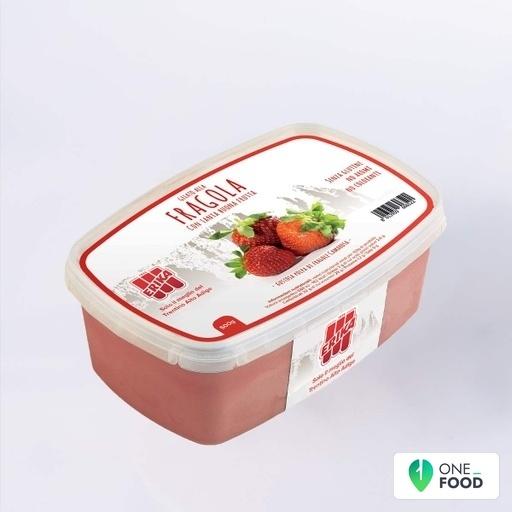Erdbeere Eisbecher